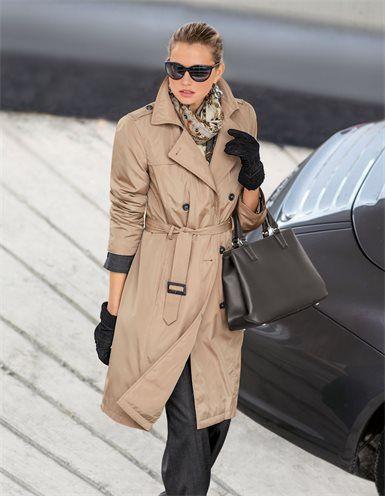 Мягкий, короткий Дамы Тренч heraustrennbarem Подкладка, дамы солнцезащитные очки, Большие дамы деловая сумка из натуральной кожи с базовыми ноги, большие дамы шерстяной шарф в Пейсли дизайн, дамы замшевые перчатки с шерстяной подкладкой