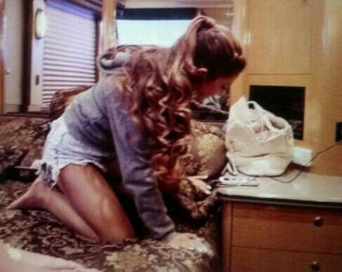 The gallery for --> Ariana Grande Tour Bus