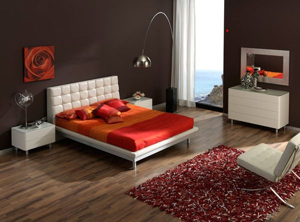 603 Toledo bedroom set in white lacquer finish case goods and silver legs   White upholstered headboard platform bed does not require box spring 97 best Modern Beds images on Pinterest   Modern beds  Bedroom bed  . Miss Italia Bedroom Set. Home Design Ideas