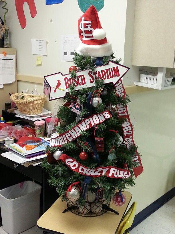 St Louis Cardinal39s baseball tree we made
