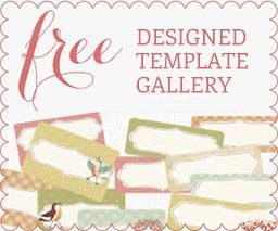 Worldlabel opens up its free Designed Label Template Gallery. All our amazing printables organized! You will love it :)  http://www.worldlabel.com/Pages/designed-label-templates.htm