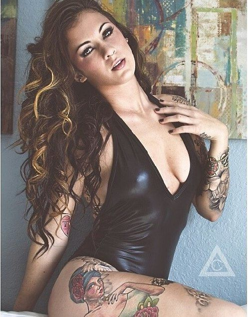 12 best tattooed model rox images on pinterest tattooed for Best tattoo magazine