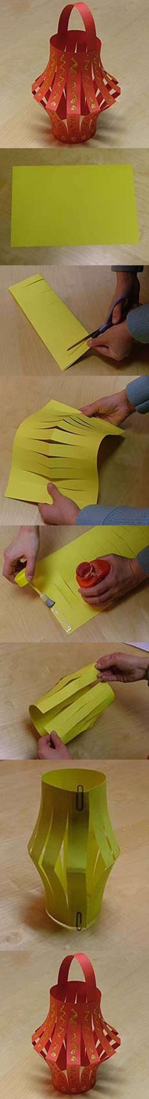 Paper lantern; construction paper; Disney, movie, around the world theme