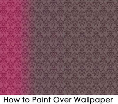Best 25 painting over wallpaper ideas on pinterest for How hard is it to remove wallpaper