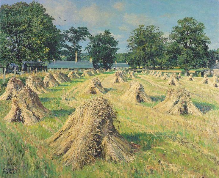 James McIntosh Patrick Wheatstooks Signed Limited Edition Print | Scottish Contemporary Art