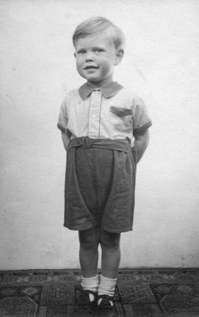 GettyImagesMick Jagger (aged 3) looking smart at home in Brent Lane, Dartford (1946).