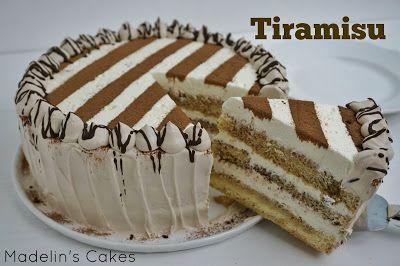 Madelin's Cakes: Receta Pastel Tiramisu