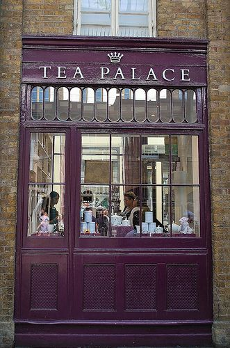 Tea Palace in Covent Garden.