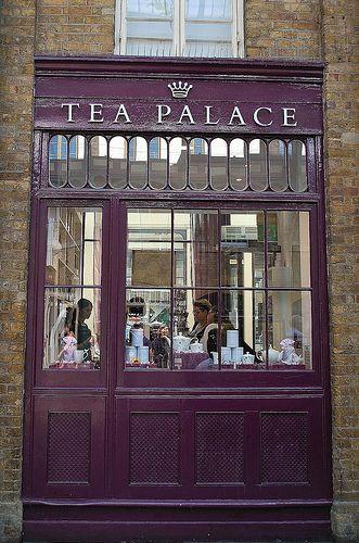 Tea Palace, Covent Garden, London, UK