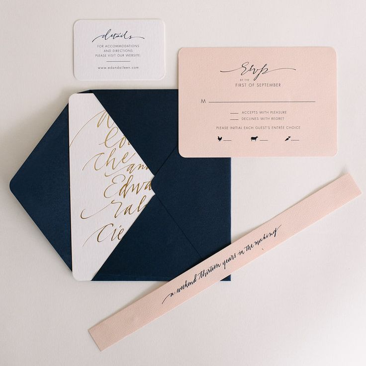 diy wedding invites south africa%0A Luxurious handlettered wedding invitations