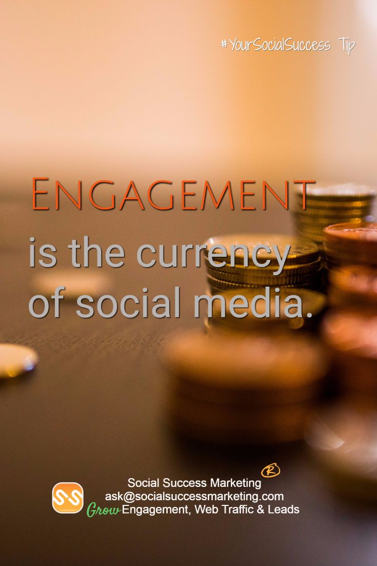 Engagement is the currency of social media.