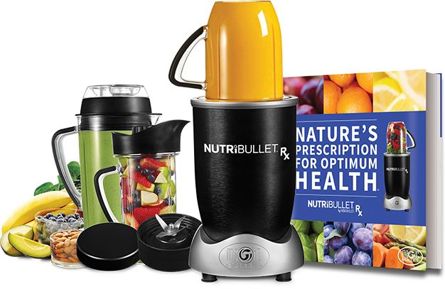 Nutri Bullet RX - yes, this baby goes into fitness category... once you try you'll figure out why!