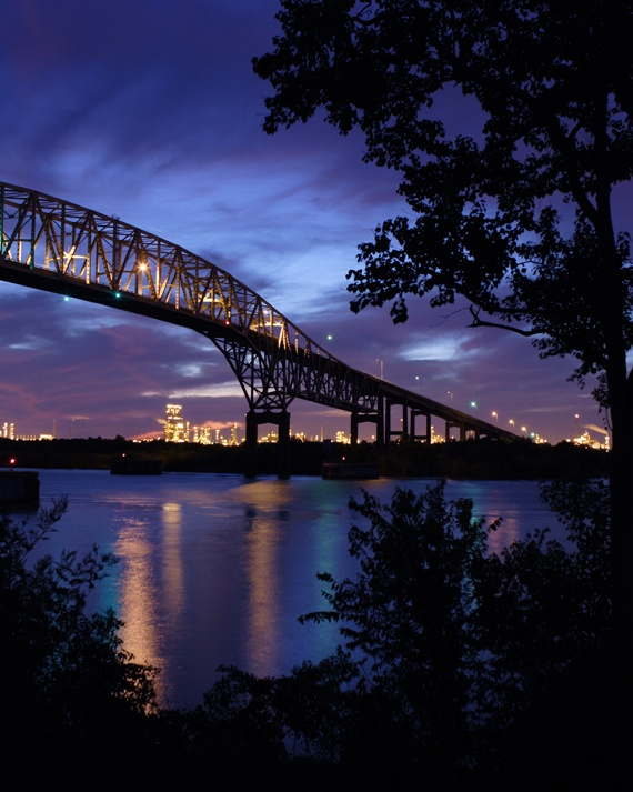 Run Over This Bridge In Port Arthur, Texas! Http://www.