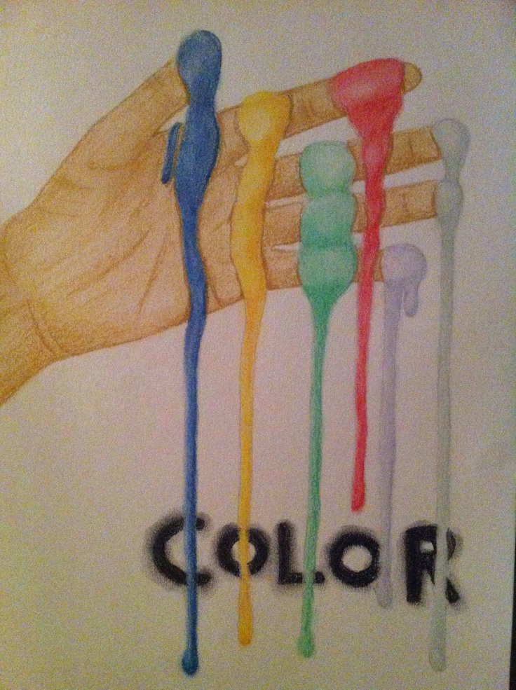 #Hand #Colors #Drawing #Pencils