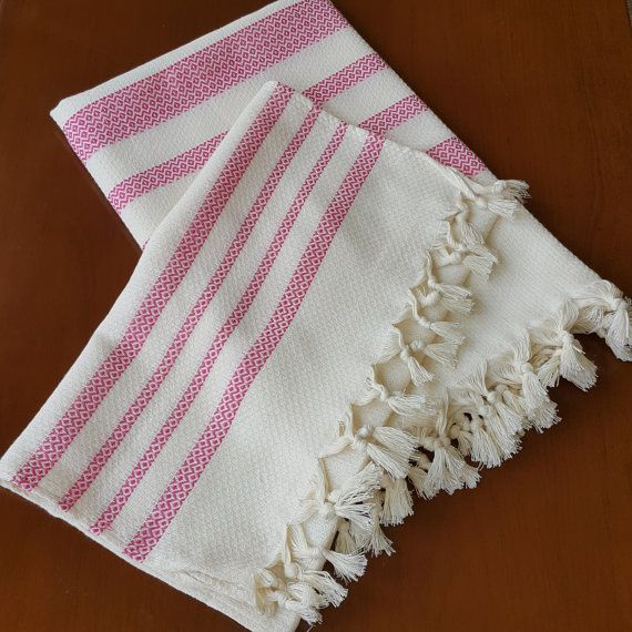 Check out this item in my Etsy shop https://www.etsy.com/listing/474206779/turkish-bath-towels-peshtemal-set-pink