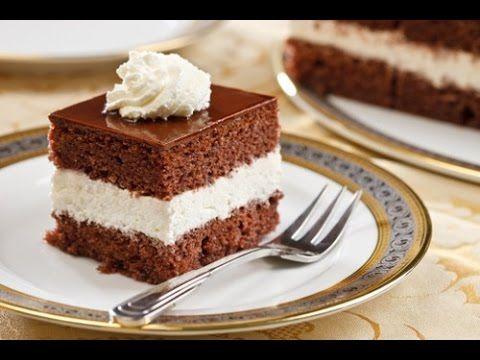 Torta Moretta , torta cioccolato e panna, mudcake - YouTube