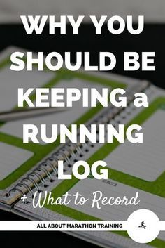 Keeping a running log is one of the best strategies for conquering the marathon! It will personally help YOU! Here is your key to a successful marathon training log.