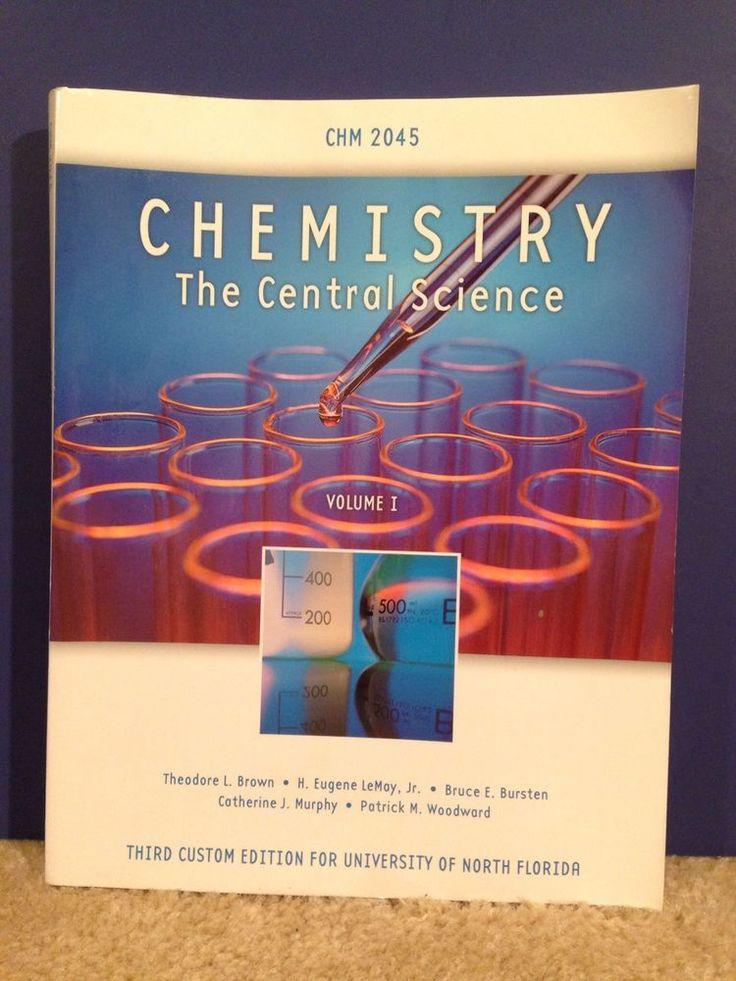 Chemistry: The Central Science, Custom Edition University Of North Florida UNF #Textbook