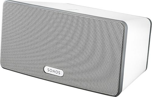 Sonos - PLAY:3 Wireless Speaker for Streaming Music - White - Larger Front