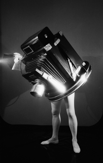 Laurie Simmons - Walking Camera I (Jimmy the Camera), 1987 #photo
