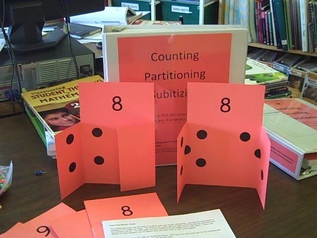 site full of wonderful ideas and resources--especially love these part-part-whole cards for subitizing!
