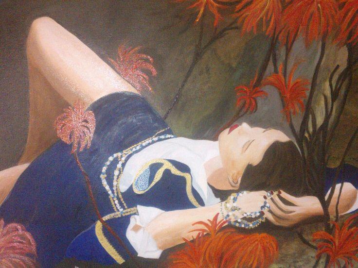 """""""Attimi"""" - olio su tela 50 x 70 - anno 2013"""