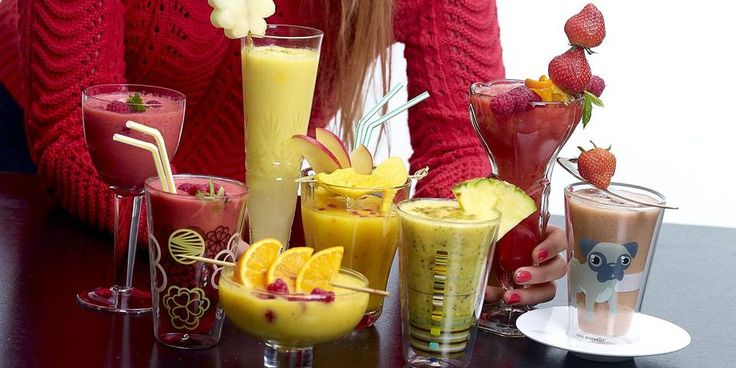 10 sunne smoothies - Mat