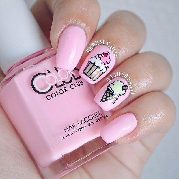Sweet Pink Nails!