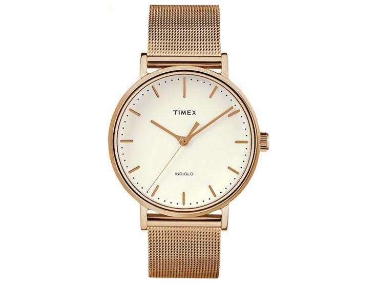 Timex Fairfield TW2R26400 Reloj para Dama Color Oro Rosa
