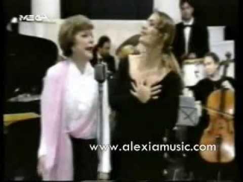 Alexia Vassiliou & Rena Vlaxopoulou - Exo apopse rantevou / To proto rantevou (Official Music Video) - YouTube