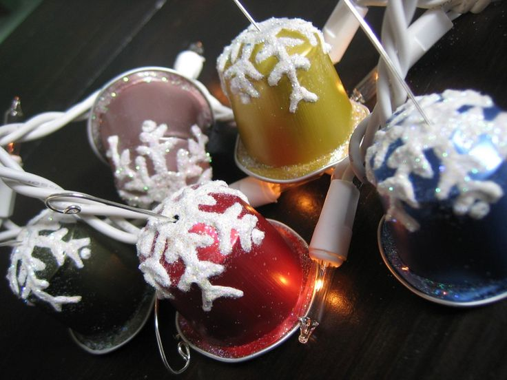 Nespresso bells for christmas