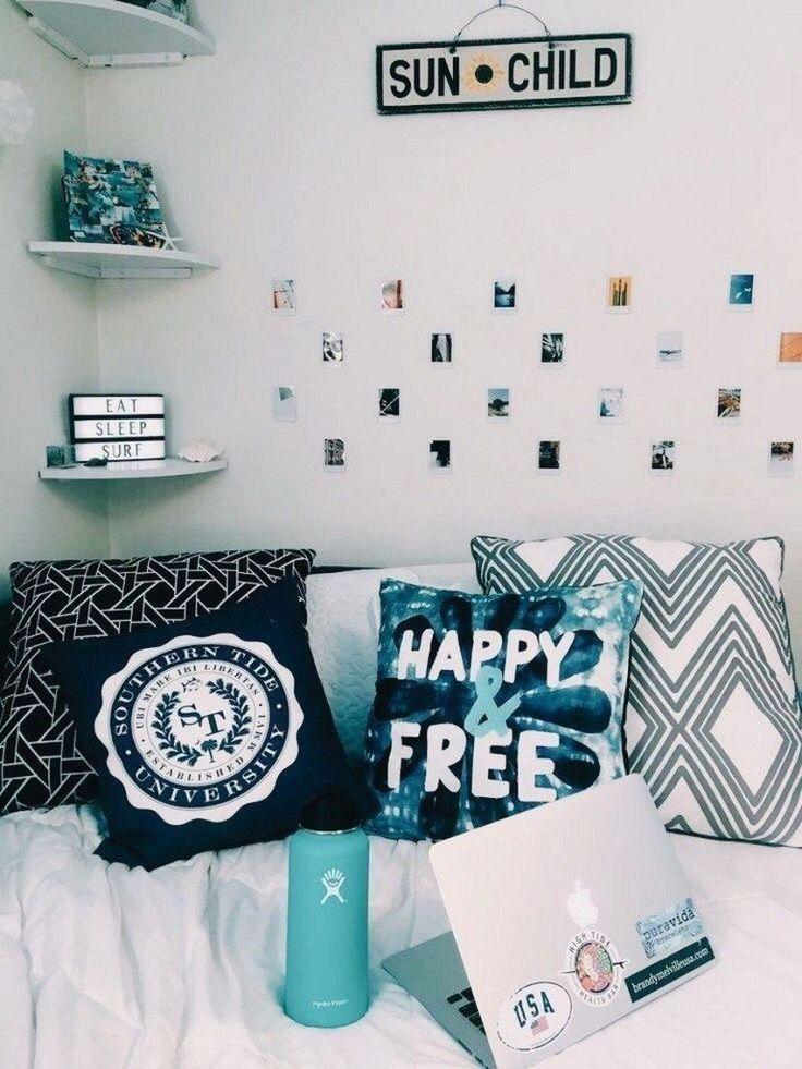 ✔81 dorm room inspiration decor ideas 65 – each of us has different …#decor #dorm #ideas #inspiration #room