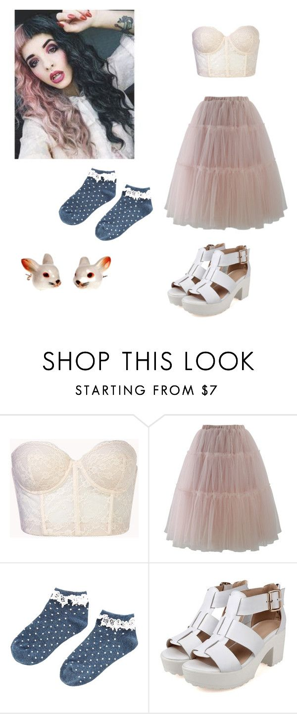 """""""Melanie Martinez: Training Wheels Inspired"""" by damacandcheese ❤ liked on Polyvore featuring Forever 21, Chicwish, Accessorize and And Mary"""