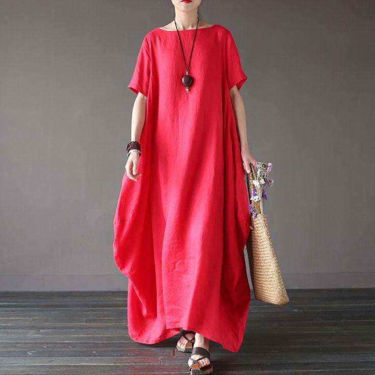 Макси платье от Pale ink   Широкое макси платье. Очень комфортное для лета, в жару в нём свободно и прохладно. Цвета: красный, белый, синий. Два варианта рукавов, круглый вырез, боковые карманы. Состав: ткань 100% лен, подкладка 100% хлопок. Бренд: Pale ink. ☮️ Цена: 2 900 руб.  Под заказ. Доставка из Китая 2-3 недели. +7 (916) 051-60-02 (whatsapp, viber, telegram) Больше моделей и фотографий на сайте: bohomagic.ru. http://bohomagic.ru/shop/for-her/pale-ink-maksi-plate/ #бохокупить…