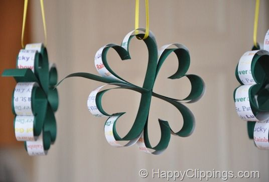 four leaf clover for St. Patrick's Day