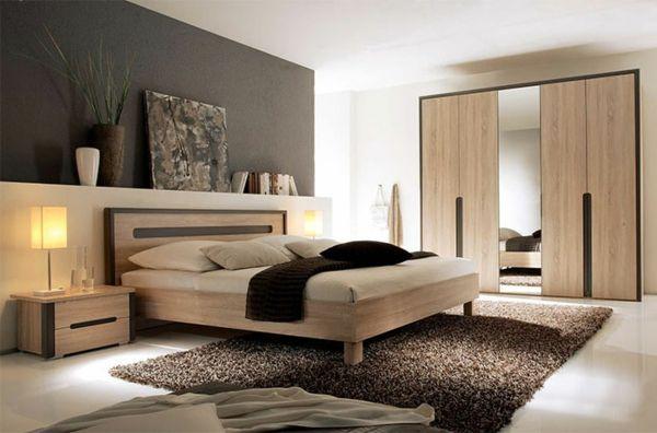 Résultats de recherche d'images pour «chambre à coucher moderne en bois»
