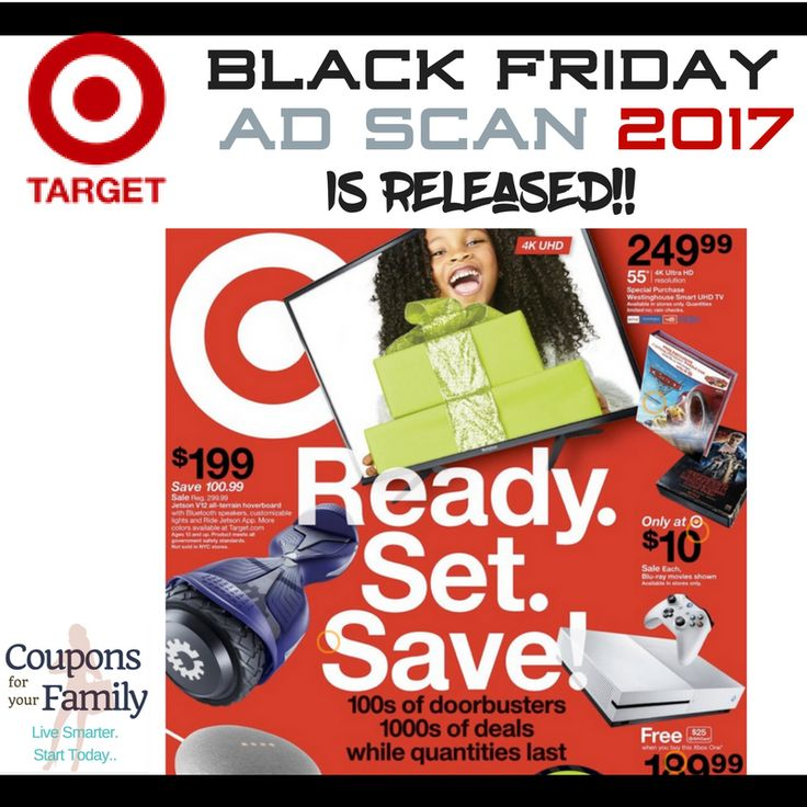 Here is the Target Black Friday Ad Scan 2017 plus list of the top deals! - http://www.couponsforyourfamily.com/target-black-friday-ad-scan-deals/