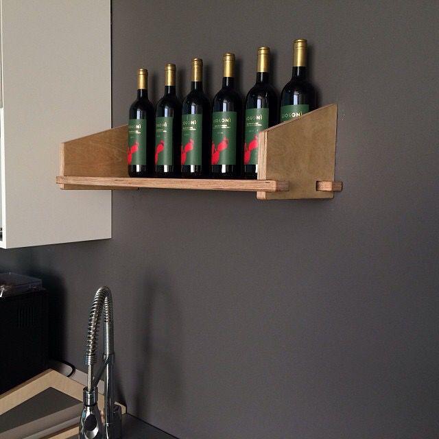 Wood shelf Km0design LineaLeggera
