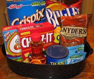 Chex Mix with Bugles  ...but what is popcorn oil and where do I buy it???  {don't judge}