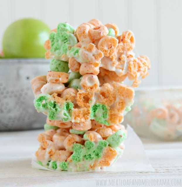 Apple Jacks Marshmallow Treats