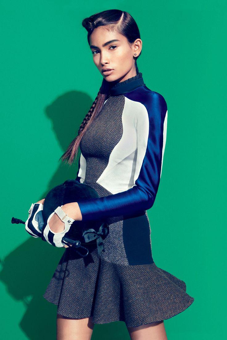 TEEN VOGUE SEPTEMBER 2012    Grand Prix: Equestrian-Inspired Fashion   Photographer: Sebastian Kim