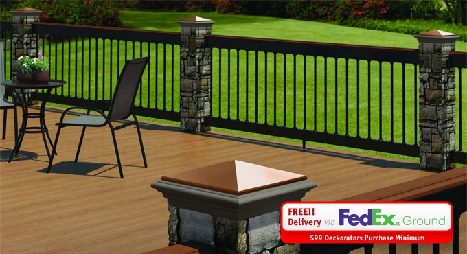 The 25 best deck railing kits ideas on pinterest for Composite decking wickes