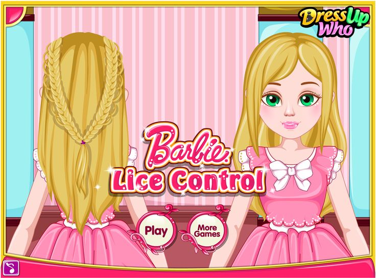 Barbie Lice Control - Barbie's gorgeous blonde hair locks were invaded by lice and their eggs and now she needs your precious helping hand to get rid of them! There is a new special shampoo on the market and she plans to try it out today, hoping that she will manage to exterminate these creatures in a way that is supposed to be less damaging for her hair locks. Apply the lice killing shampoo on her hair, rinse it and then use a special lice comb to remove louse by louse.