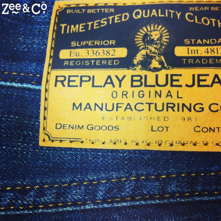 Skinny, relaxed, regular, or slim. What is your favourite Replay jean fit? http://www.zeeandco.co.uk/mens/replay.html?sale=2 #Replay #jeans #designer