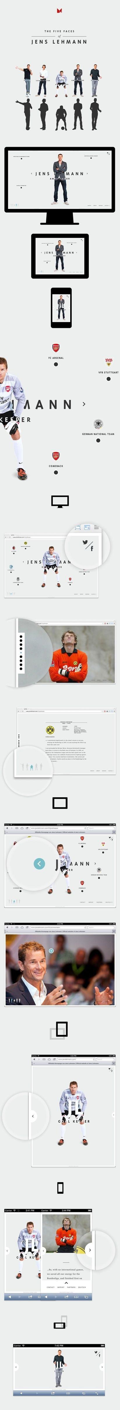 Jens Lehmann   Personal Website on Behance