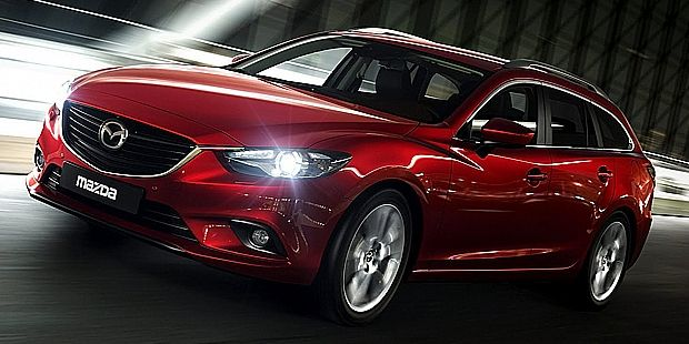Mazda Mazda6 2014 have ensured sell based on the Concept Takeri the end of this year for Japan and European markets