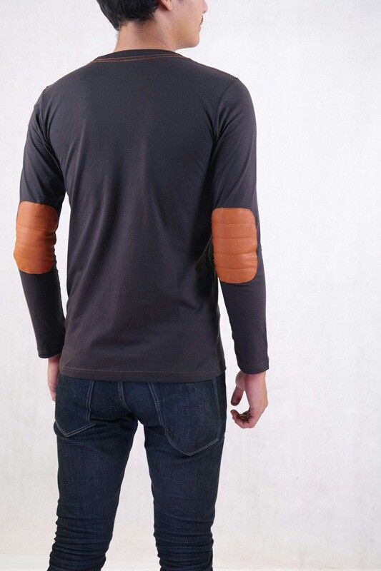lined elbow patch