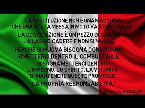 La Costituzione italiana: la storia della Nostra Costituzione - YouTube