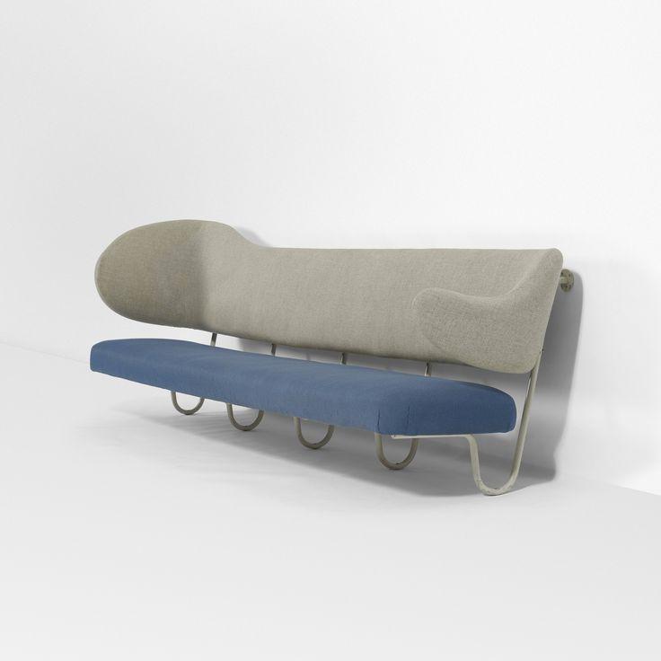 Wall-Mounterd Sofa by Finn Juhl, c. 1953