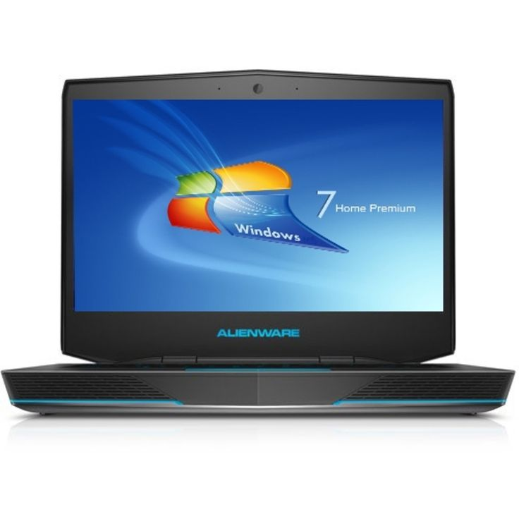 Dell Alienware Core i5-4200M Dual-Core 2.5GHz 8GB 500GB DVD±RW GeForce GT 750M 14 Full HD Notebook W7HP w/Webcam